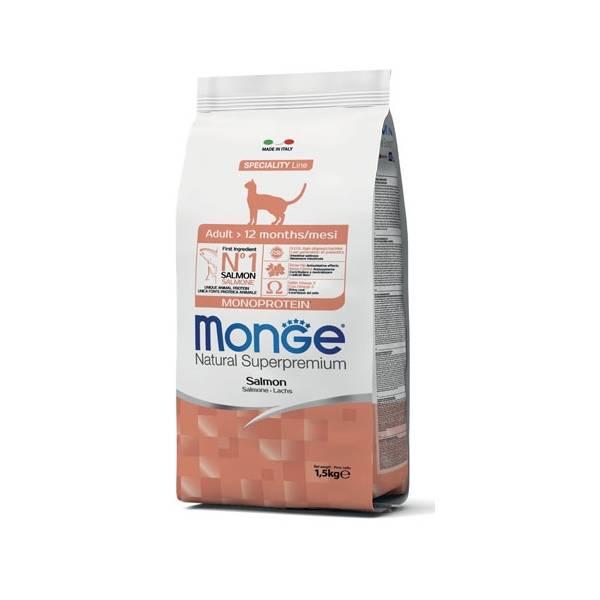 Monge Cat Adult Monoprotein Salmon | Apetit shop - Online prodaja hrane i opreme za kućne ljubimce