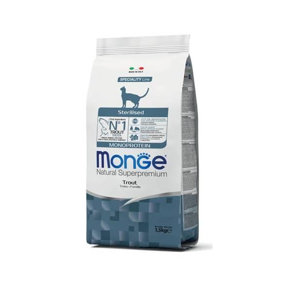 Monge Cat Sterilized Monoprotein Trout