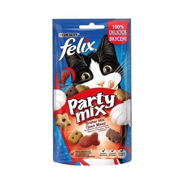 Purina Felix Party Mix Cat Mixed Grill