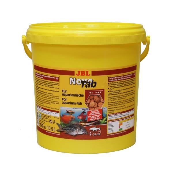 JBL NovoTab, potpuna hrana u tabletama za sve akvarijumske ribe