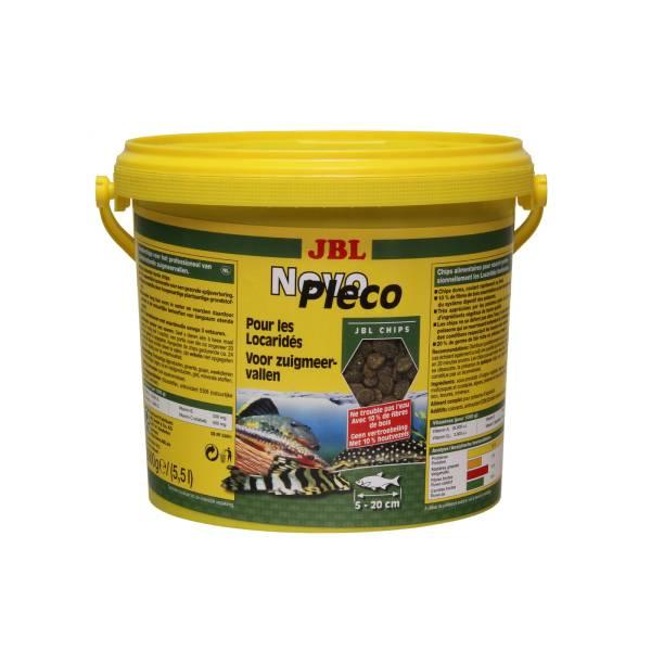 JBL NovoPleco, osnovna hrana u obliku čipsa za profesionalno hranjenje riba biljojeda