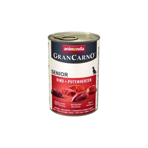 Animonda Gran Carno Dog Senior, Beef and Poultry