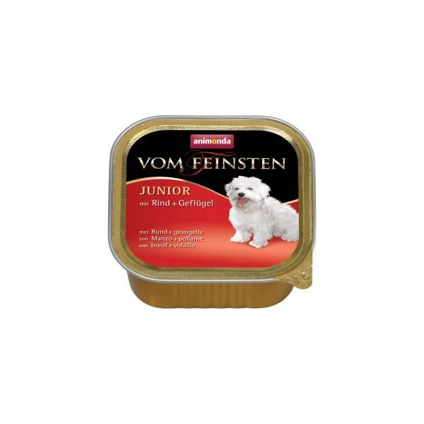 Animonda Vom Feinstein Dog Junior, Beef and Poultry