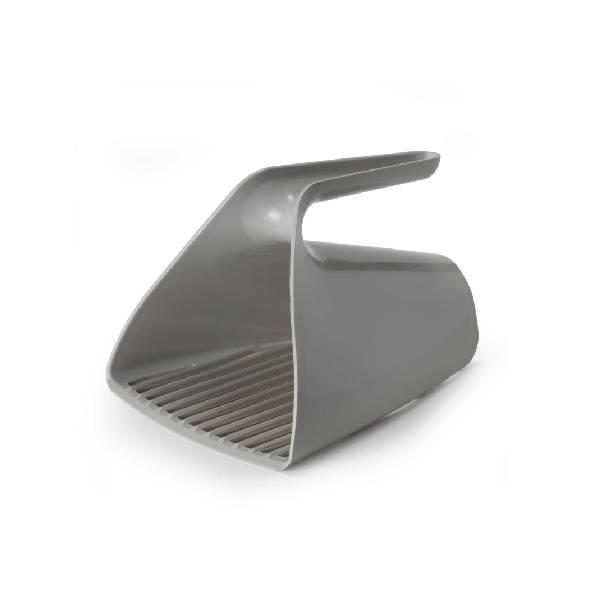 Moderna Scoop & Sift Warm Gray, lopatica za higijenu toaleta mačaka, tamno siva