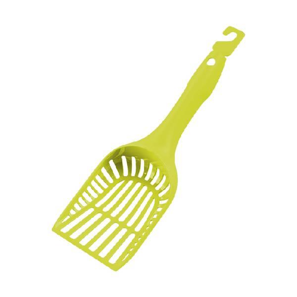 Moderna Handy Scoop with lock Lemon Yellow, lopatica za čišćenje toaleta mačaka, limun žuta