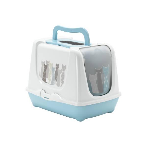 Moderna Trendy Cat Maasai Blue, WC za mačke