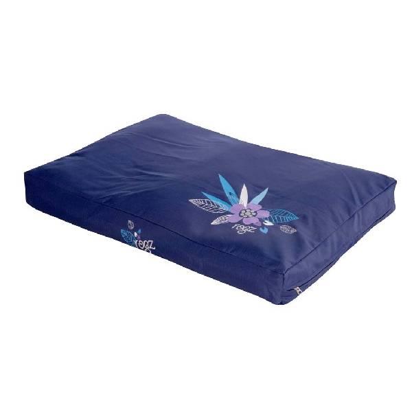 Rogz Flat Bed Purple Forest, ljubičasta ležaljka za pse