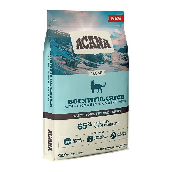 Acana Cat Bountiful Catch hrana za mačke, divlji losos, som i haringa